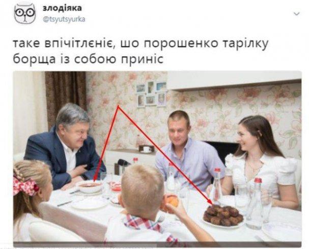 Соцсети высмеяли Порошенко за неумелый пиар: «ходит по квартирам и объедает людей»