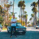 Американцы прокатились на «Жигулях» по улицам Лос‐Анджелеса (видео)