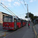 На защиту астраханских троллейбусов вышли волгоградцы
