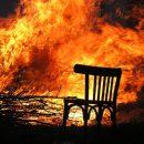 В Астраханской области по вине курильщика сгорело помещение
