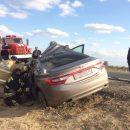 В Астрахани погиб водитель легковушки, врезавшейся в грузовик