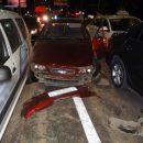 В Астрахани пьяный лихач протаранил сразу четыре авто