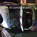 Во время аварии в Астрахани у одного из спасателей работала видеокамера