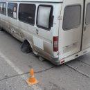 В Астрахани у маршрутки отвалились колеса, пострадал ребенок