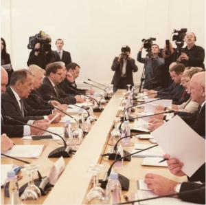 Астраханский губернатор выступил на заседании Совета глав субъектов при МИД России