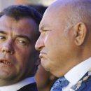 Лужков раскрыл тайну Медведева