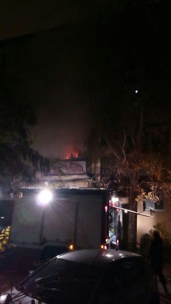 Астраханцы сообщили о задымлении возле «Башни»