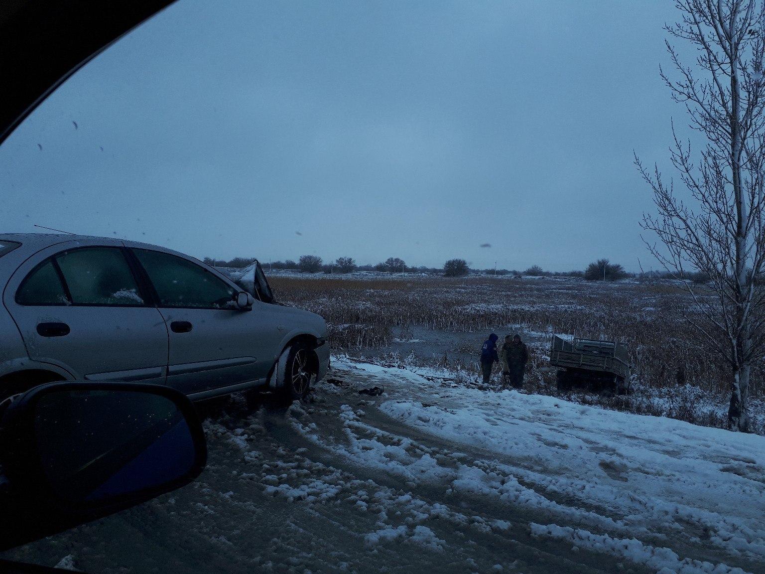Первый снег стал причиной почти значительного роста ДТП в Астрахани