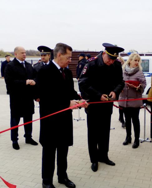 В Астрахани открыли новый пункт полиции