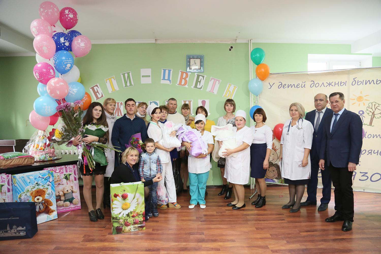 В Астраханской области родилась очередная тройня