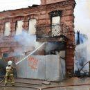 В астраханском МЧС назвали причину вчерашнего пожара в старинном особняке