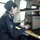В Астрахани маршрутное такси арестовали за долги прямо на дороге