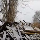В соседнем регионе снесли частный дом, пока семья, которая в нем жила, была в гостях