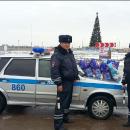 В Астрахани полицейские устроили сюрприз ребенку, пережившему серьезное ДТП