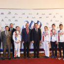 Астраханский губернатор встретился с победителями Чемпионата Мира и Европы по гиревому спорту