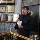 Фотожурналиста «Газеты ВОЛГА» наградили за духовно-просветительскую работу и содействие православной Церкви