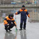 Астраханский спасатели предупреждают: лед тонок и небезопасен