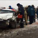 В Астрахани из-за гололедицы произошло серьезное ДТП