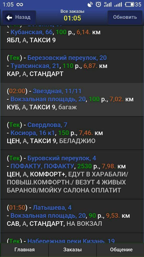 Астраханский таксист рассказал о четырех необычных клиентах