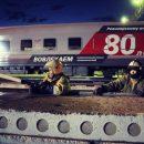 Под Волгоградом тушили 16 вагонов с серой из Астраханской области