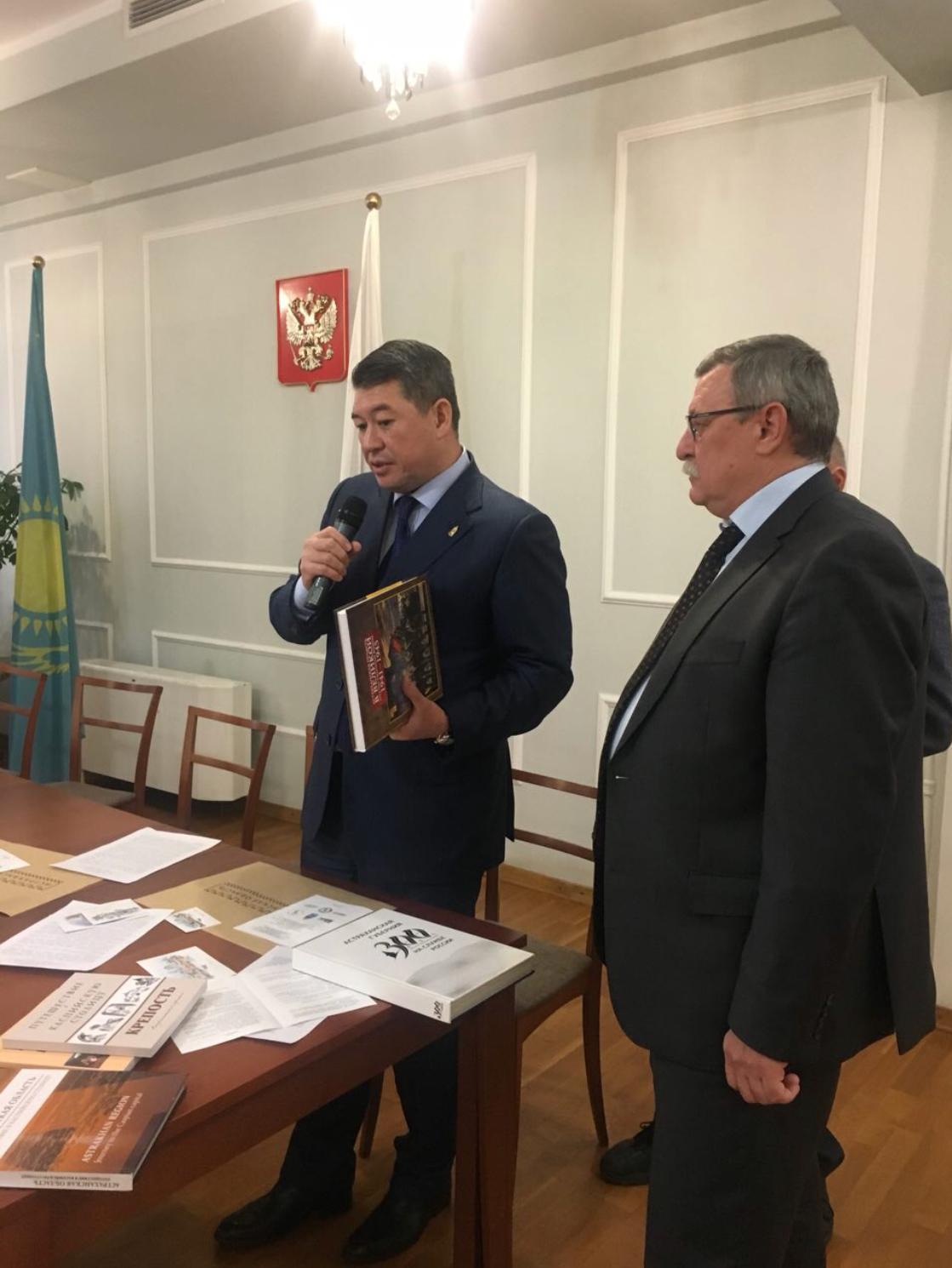 Астраханская делегация презентовала Каспийский медиафорум в Казахстане