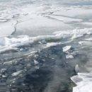 В Астрахани возле Больших Исад найден вмерзший в лед труп