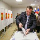 Спикер думы Астраханской области принял участие в выборах президента РФ