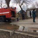 В центральной части Астрахани сгорели дом и сарай