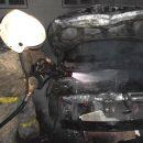 В элитном районе Астрахани ночью подожгли иномарку