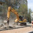 Как ремонтируют дорогу от Бэра до Кирова в Астрахани
