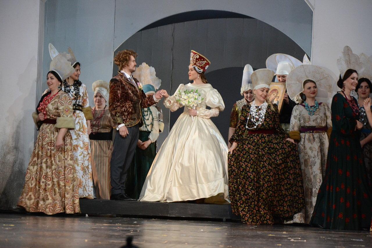 В Астрахани состоялась премьера оперы «Царская невеста»