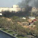 В Астрахани снова пожар на Набережной 1-го Мая