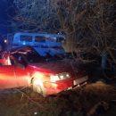 В Сети появилось видео с места аварии, в которой погиб водитель