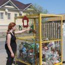 В Астрахани появились контейнеры для раздельного сбора мусора
