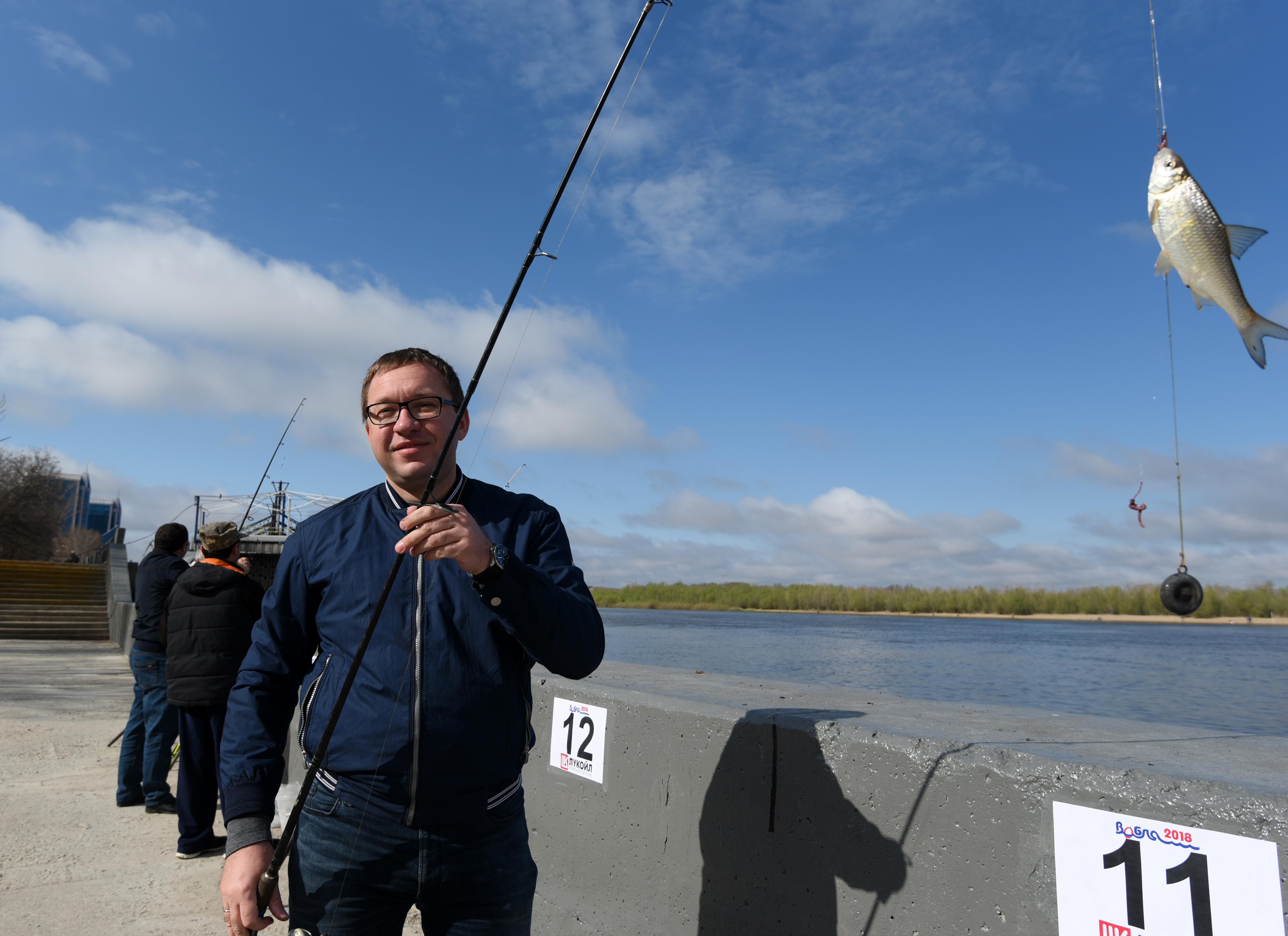 ЛУКОЙЛ в очередной раз стал главным партнером рыбацкого фестиваля «Вобла»
