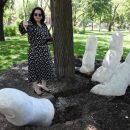 В Астрахани выкапывают «пальцы», торчащие из земли