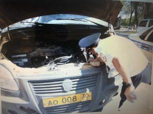 В Астрахани неисправные ГАЗели-развалюхи, угрожающие безопасности пассажиров, сняли с маршрута