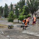 В Астрахани с районе АЦКК началась реконструкция сквера Строителей