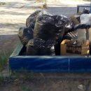 В Астрахани детскую песочницу превратили в склад мусора