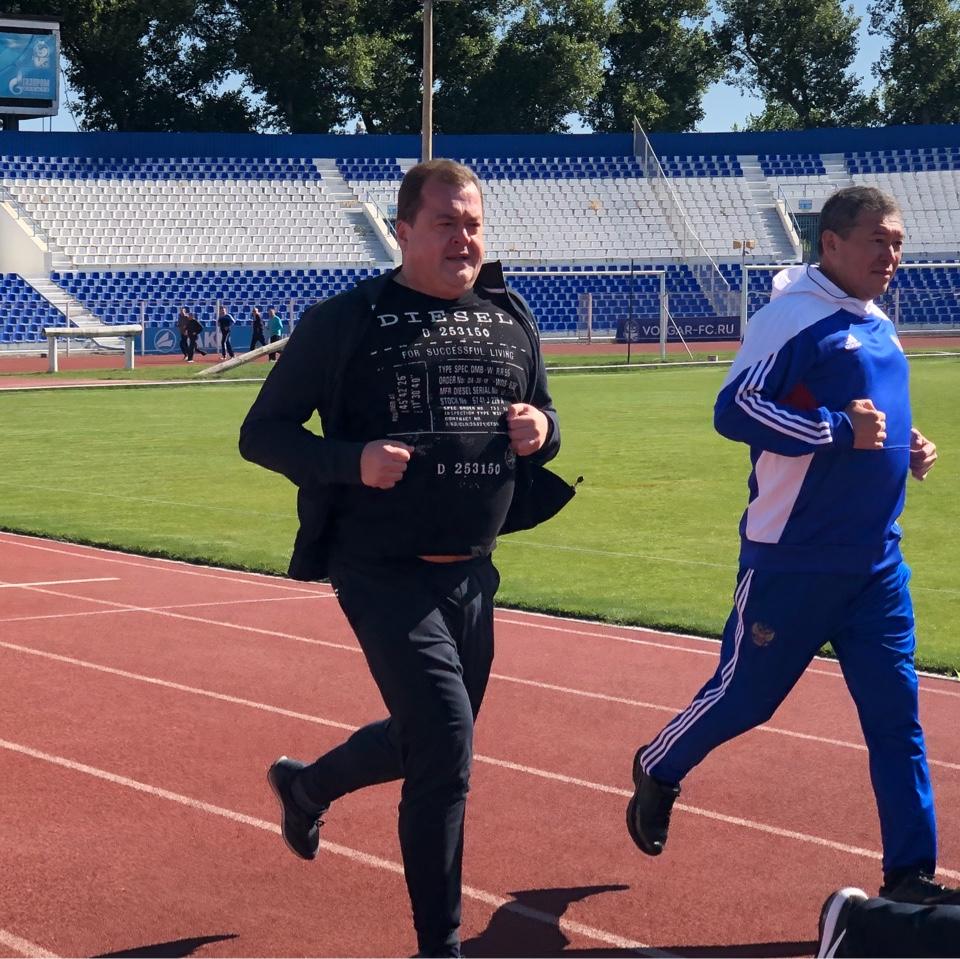 Астраханские чиновники массово сдали нормы ГТО