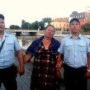 В центре Астрахани спасли тонущую мать семерых детей