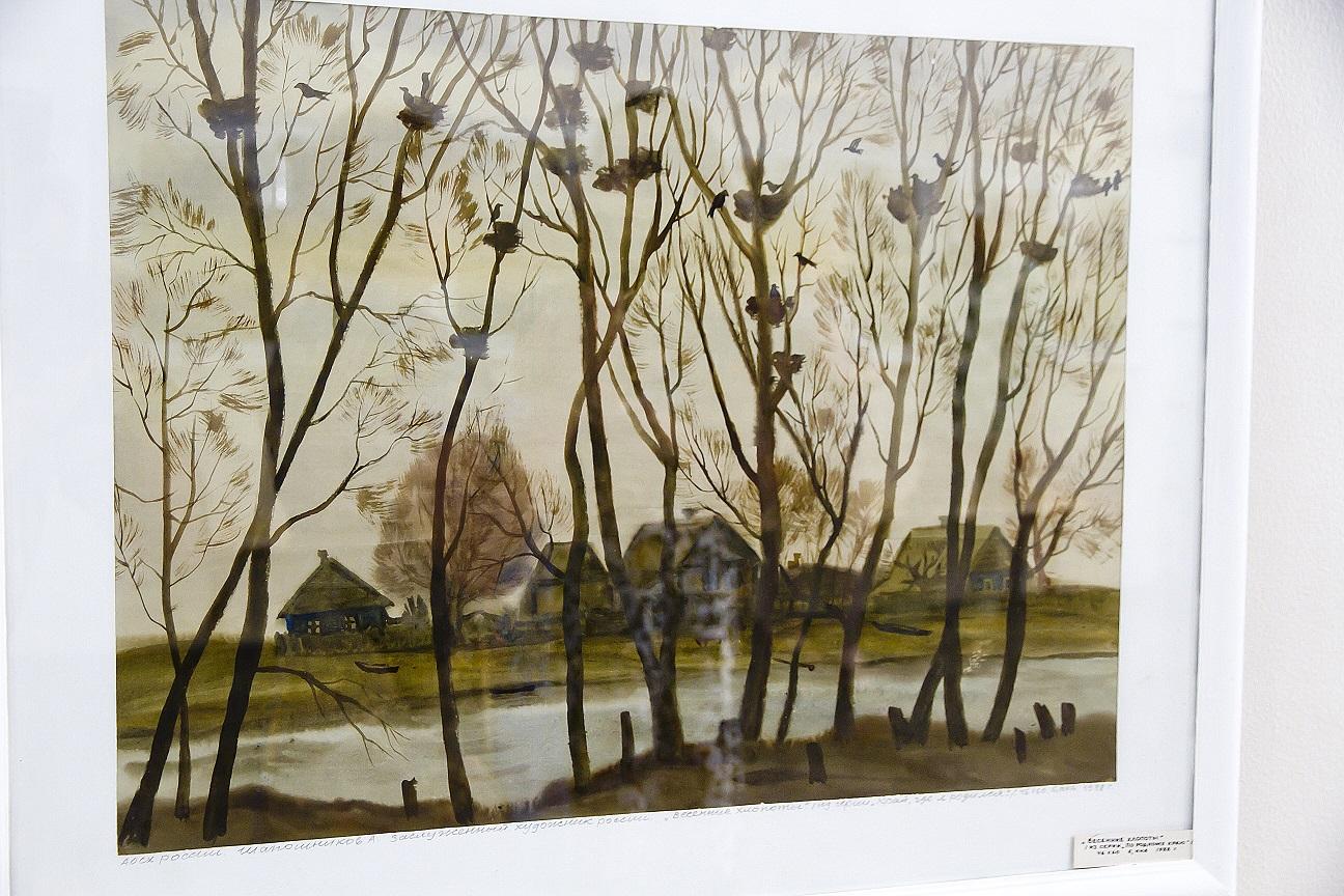 В Астрахани открылась выставка заслуженного художника России Александра Шапошникова