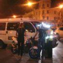 В Астрахани маршрутка сбила мотоциклиста
