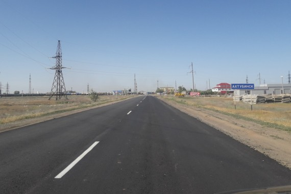По обращениям астраханцев продолжается масштабный ремонт дорог