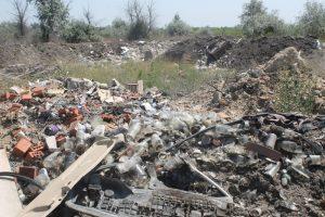 Под Астраханью обнаружили свалку отходов консервного производства