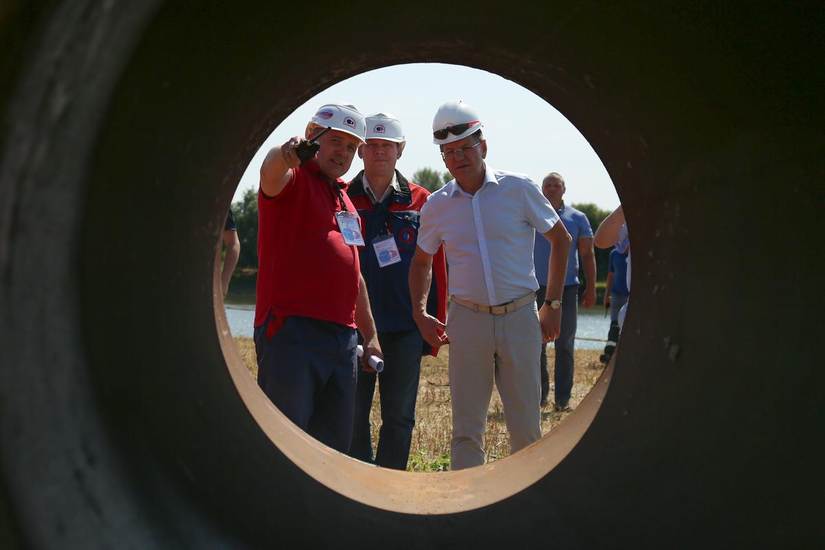 В Астраханской области «спасали» Ахтубу от нефти