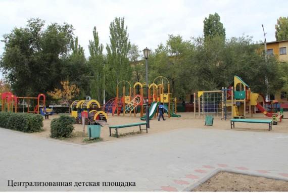 В Астраханской области установят новый детский городок