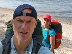 Никита Елкин успешно завершил поход из Астрахани до Кинешмы