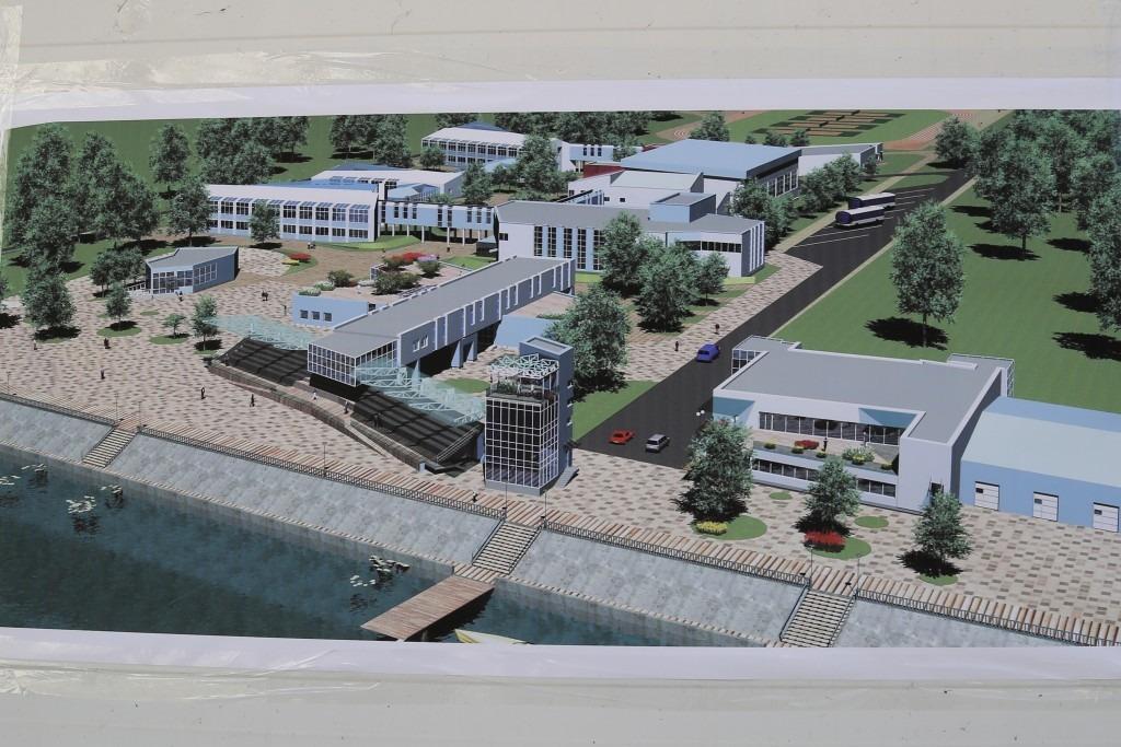 Гребной центр строится под Астраханью