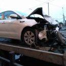 В Астрахани при жестком столкновении автомобилей пострадала девушка